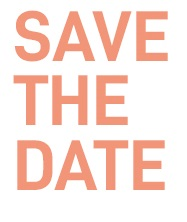 """""""Save the date"""" Maison ESS"""